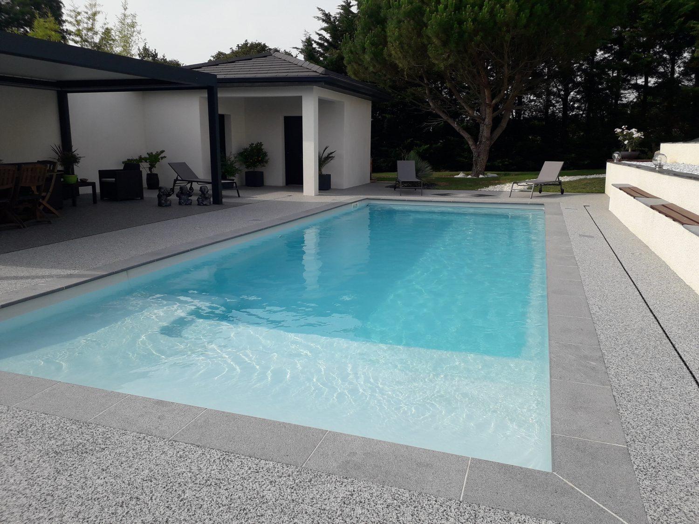piscine plaisance 8 plage volet immergé